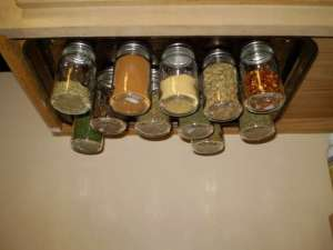 Saturday Project Spice Rack The Organized Wife