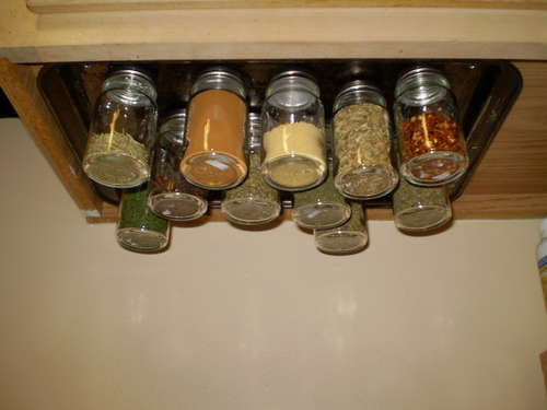 Delicieux Under Counter Spice Rack Plans