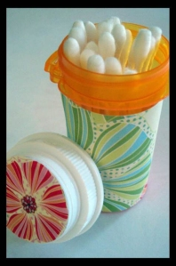 Re Use Idea Pill Bottles The Organized Wife