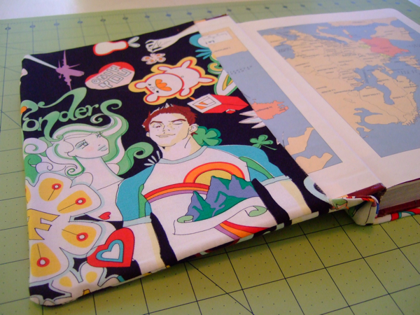 Reusable Fabric Book Cover : Saturday project reusable book covers the organized wife