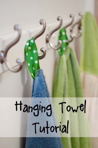 Saturday Project Towels For Hooks The Organized Wife